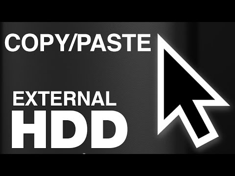 How To Copy Paste Files Folders To External Hard Drive On