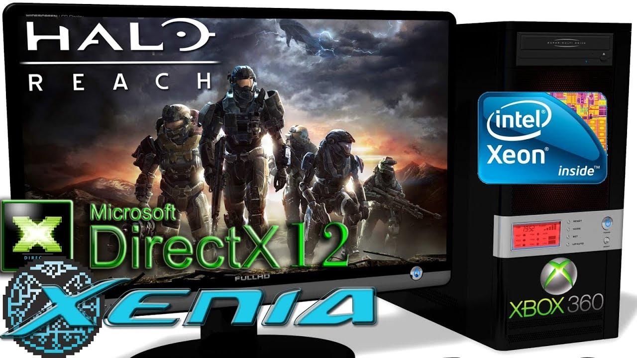 XENIA DX12 [Xbox 360] - Halo: Reach [Ingame-Render] DirectX12-ROV #4