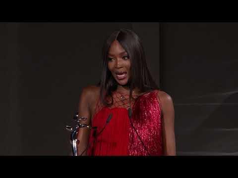 2018 CFDA Fashion Awards: Naomi Campbell Receives Fashion Icon Award