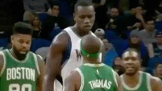 Isaiah Thomas SLAMMED To The Ground By Gorgui Dieng