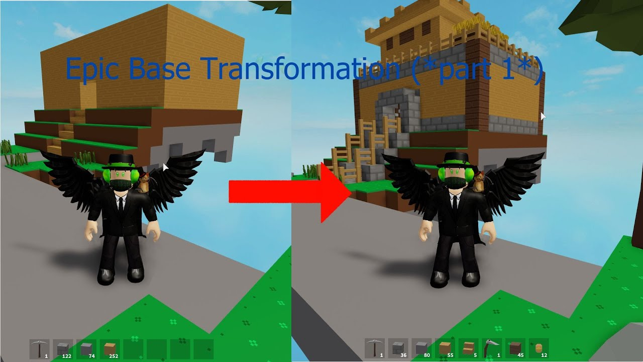 Epic Transformation Part 1 Tips On Building A Nice House On