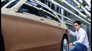 شيء يفوق الخيال .. احبس انفاسك وشاهد طريقة تصميم سيارة مارسيدس
