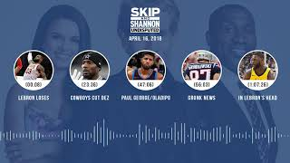 UNDISPUTED Audio Podcast (4.16.18) with Skip Bayless, Shannon Sharpe, Joy Taylor | UNDISPUTED