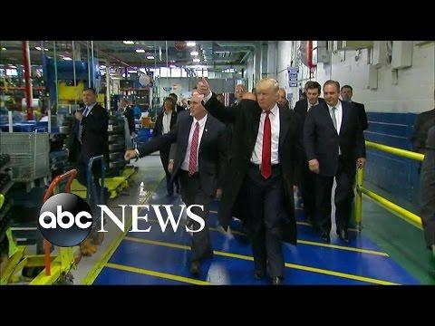 Trump Speaks to Carrier Employees