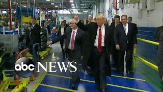 Trump Speaks to Carrier Employees