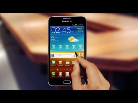 Samsung Galaxy Note Official Video