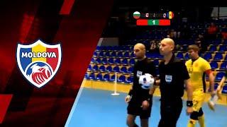 Futsal.  Bulgaria 3-5 Moldova // Meci Amical, 5.11.2018