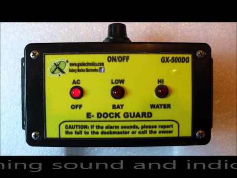 Marine Alarm ( E-Dock Guard) by Galaxy Marine Electronics San Diego CA