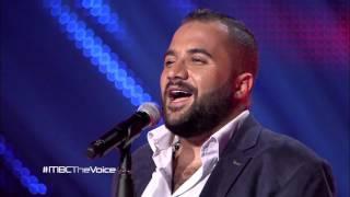 MBC The Voice -  علي الألفي - Caro Mio Ben   - مرحلة الصوت وبس