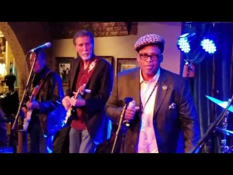 Andy T Band with Anson Funderburgh & Alabama Mike - Hard Rock Beale Street- Memphis TN - 2/3/17
