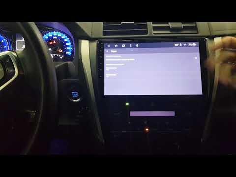 Штатная магнитола Parafar Android 8.1.0 для Toyota Camry V55 (PF466K)