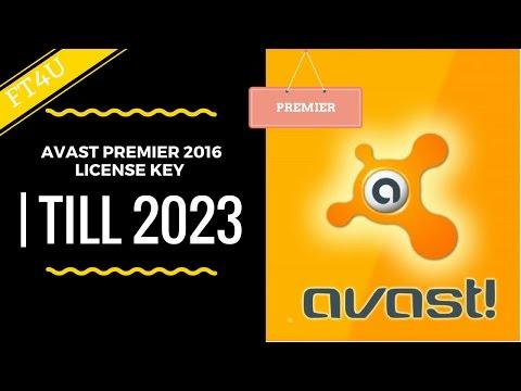 Avast premier 2016 license key | Till 2023 | Hindi