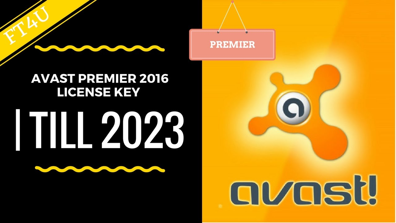 Avast premier 2016 license key | Till 2023 | Hindi - YouTube