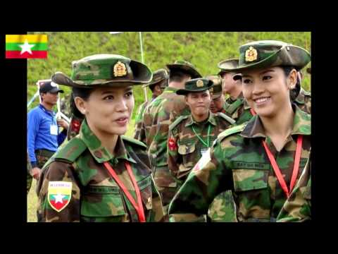 ASEAN Military [Female Army Soldiers]