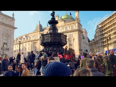 Leicester Square, Piccadilly Circus & Chinatown - Walking in London