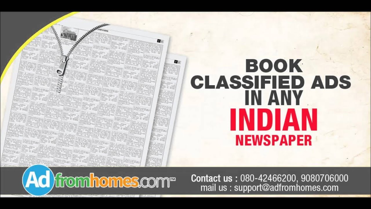 newspaper advertising nationwide classified or display