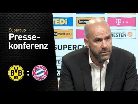 Pressekonferenz nach dem Supercup | BVB - Bayern München 6:7