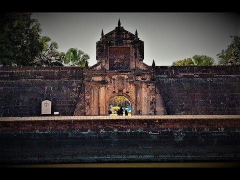 The Magnificent Fortress - Fort Santiago Intramuros Manila Philippines   VLOG 23