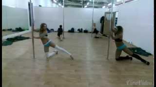 POLE DANCE ROUTINE HIGH HEELS WEEK-BLOOPERS