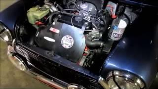 Tutoriel  Remplacement de la  courroie  d'alternateur sur  mini Austin/Moke