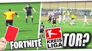 FORTNITE TORJUBEL in der KREISLIGA!⚽ TOR DES MONATS! Krasses Spiel ft 10 Toren & ROTE Karte!😱 PMTV