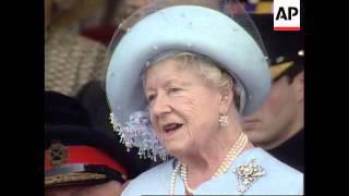 UK - Bless Them All, Queen Mum Tells Mass Crowd