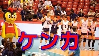 【女子バレー】韓国 主将とリベロがケンカ!(リオデジャネイロオリンピックバレーボール競技 女子世界最終予選 東京大会) 私の新しいチャンネルです、最新動画をいち早くチェックするため