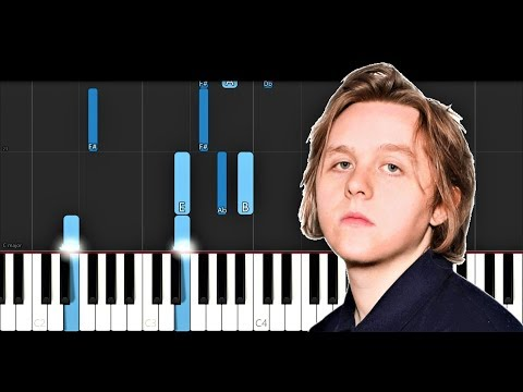 Lewis Capaldi - One (Piano Tutorial)