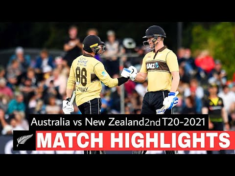 Australia Vs Newzeland 2nd T20 full highlights , full analysis Thrilling match . neesham last over.