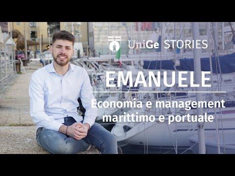 Emanuele - Economia e management marittimo e portuale - Unige Stories
