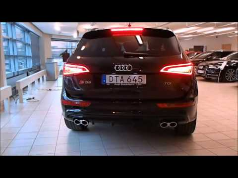 New 340PS  Audi SQ5 Plus start up and small rev (walkaround)