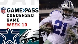Dallas Cowboys vs. Philadelphia Eagles  | NFL Week 10 Game Pass Condensed Game