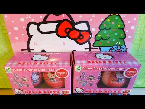 hello kitty christmas advent calendar toy house surpris. Black Bedroom Furniture Sets. Home Design Ideas