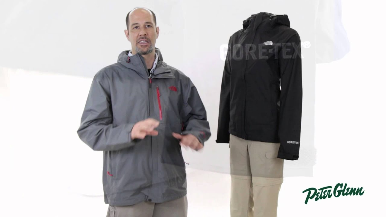 The North Face Dryzzle Rain Jacket Review by Peter Glenn - YouTube