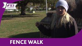 Jonelle Price - Fence Walk - Les 4 Etoiles de Pau - FEI Classics™ Eventing 2015/16