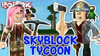 Roblox ITA - Un Tycoon Sospeso Nel Vuoto! - #50 - Skyblock Tycoon