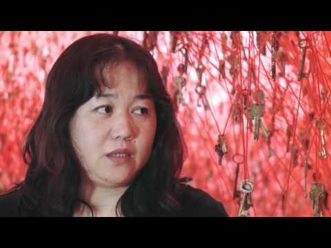Japan New Media Art Exhibition: In depth interview artist Chiharu Shiota