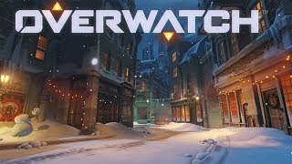Overwatch Funny Moments - Winter Wonderland, Santa Törbjorn, and Yeti Fight!