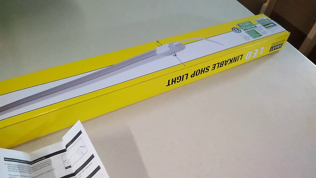 Smart Electrician LED Linkable Shop Light Review