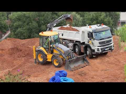 Volvo Backhoe Loader