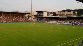 OL AJAX à Bourgoin  Ambiance garantie à Pierre Rajon