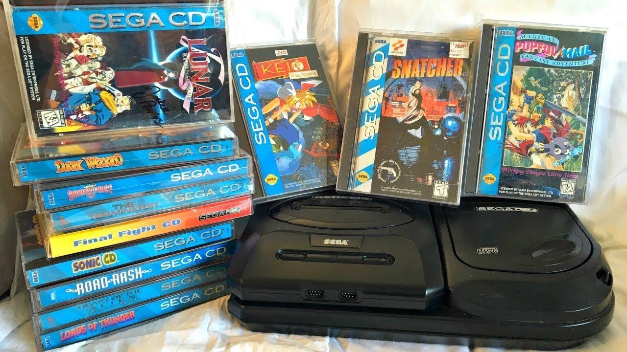 Emulador Sega CD + Roms (Configurado e Pronto para jogar)