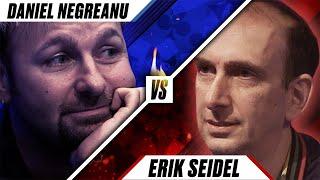 Daniel's Biggest RIVAL in Poker - Daniel Negreanu vs Erik Seidel ♠️ Poker Rivals ♠️ PokerStars