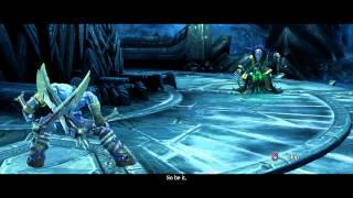 Darksiders II PC Gameplay - Death vs War (Crowfather)