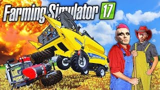 JUST LET THIS HAPPEN!!!!  | Farming Simulator 17 (PC) Multiplayer (Dual Cam)