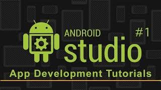 Video Android Studio App Development | First App Project | Part 1 download MP3, 3GP, MP4, WEBM, AVI, FLV Juli 2018