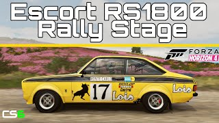 Escort RS1800 Rally - PHALANX 38 Mile Stage - Forza Horizon 4