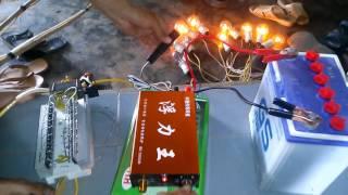 So sánh máy kích cá điện tử TQ bs 58000 8fet vs máy cơ ngâm nước  14D 718