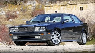The Top Model Maserati Biturbo 2.24 can't walk in heels - Davide Cironi (SUBS)