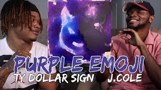 Ty Dolla $ign - Purple Emoji feat. J. Cole [Official Audio] - REACTION